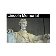 Lincoln Memorial NM Rectangle Magnet