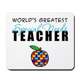 Worlds Greatest Special Needs Teacher Mousepad
