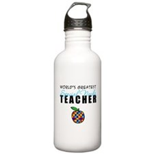 Worlds Greatest Special Needs Teacher Sports Water Bottle