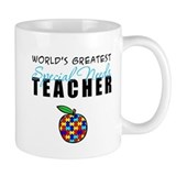 Worlds Greatest Special Needs Teacher Small Mugs