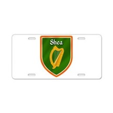 Shea Family Crest Aluminum License Plate