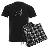 Saluki Sketch pajamas