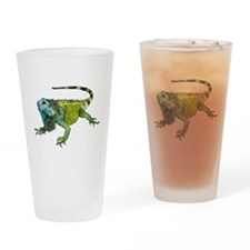Oh How Iguana Go Home Drinking Glass