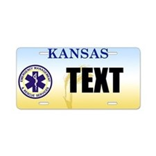 Kansas EMS Custom License Plate