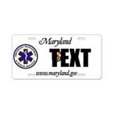 Maryland EMS Custom License Plate