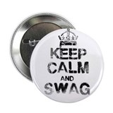 "keep calm and swag 2.25"" Button"