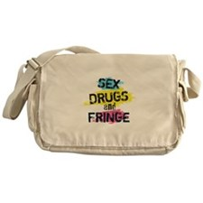 Sex Drugs And Fringe Messenger Bag