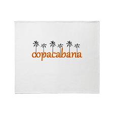 copacabana.jpg Throw Blanket