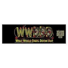 Daryl Dixon Zombie Ear Necklace Bumper Sticker