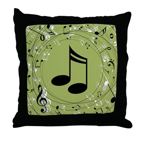 Music Teacher Musician Gift Throw Pillow