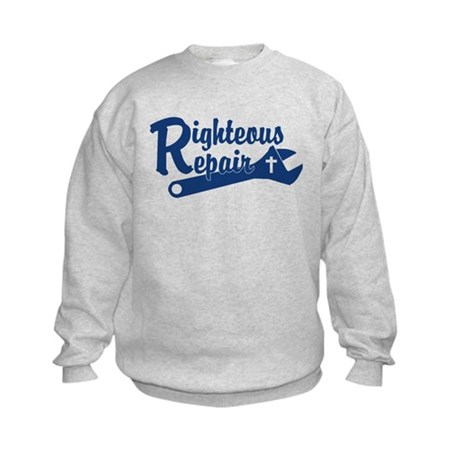 Righteous Repair Kids Sweatshirt
