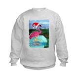 Santa Flamingo Sweatshirt