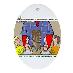 Camp Totems Ornament (Oval)