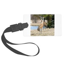 Sandhill Crane Luggage Tag