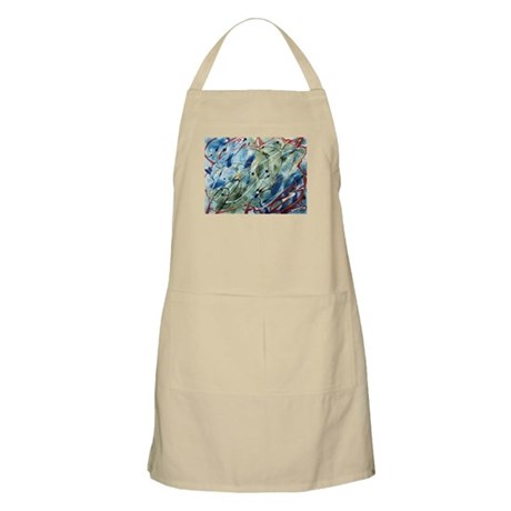 Untitled Abstract BBQ Apron