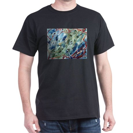 Untitled Abstract Black T-Shirt