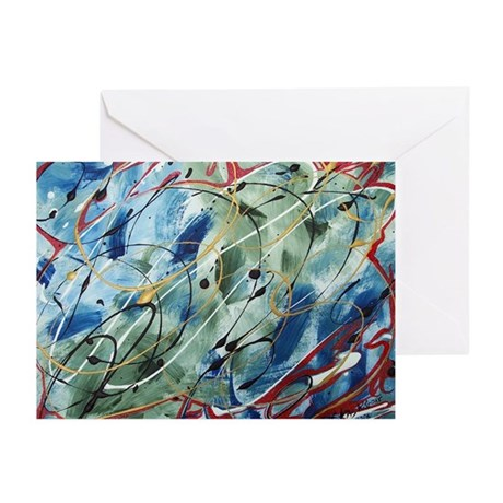 Untitled Abstract Greeting Cards (Pk of 10)