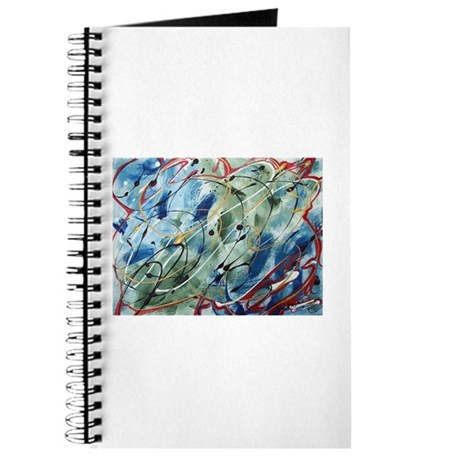 Untitled Abstract Journal