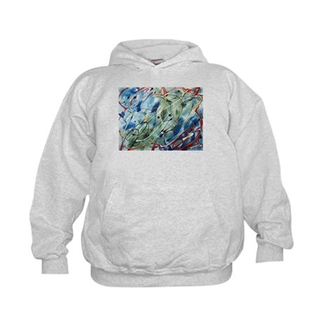 Untitled Abstract Kids Hoodie