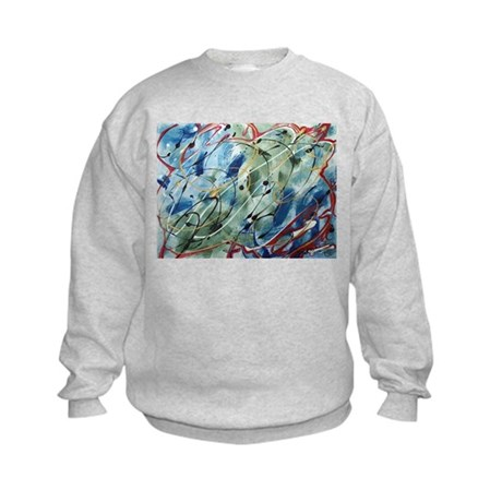 Untitled Abstract Kids Sweatshirt