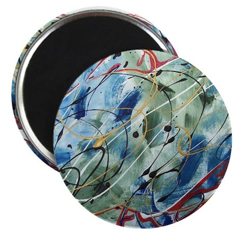 "Untitled Abstract 2.25"" Magnet (10 pack)"