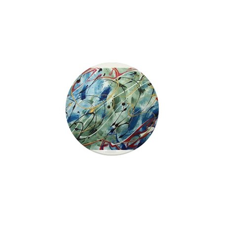 Untitled Abstract Mini Button (10 pack)