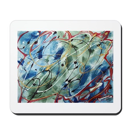 Untitled Abstract Mousepad