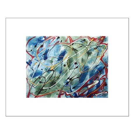 Untitled Abstract Small Poster