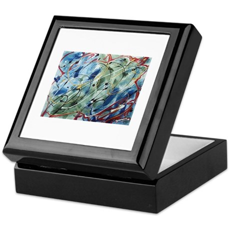 Untitled Abstract Keepsake Box