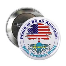 "American-Swedish Roots 2.25"" Button (10 pack)"