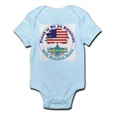 American-Swedish Roots Infant Creeper