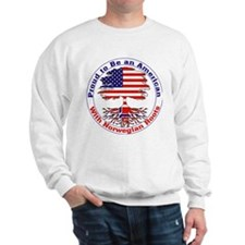 American-Norwegian Roots Sweatshirt