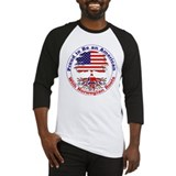 American-Norwegian Roots Baseball Jersey