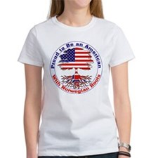American-Norwegian Roots Tee