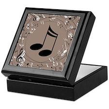 Music Gift For Teacher or Musician Keepsake Box