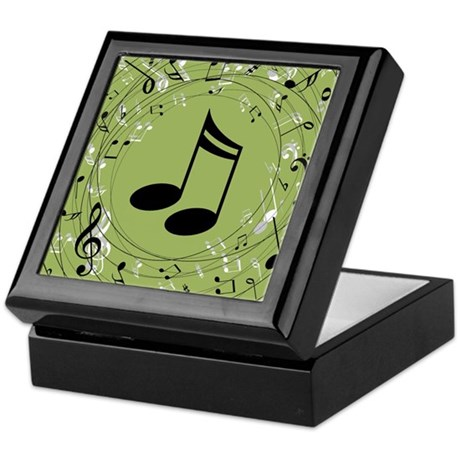 Music Teacher Musician Gift Keepsake Box