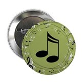 "Music Teacher Musician Gift 2.25"" Button"