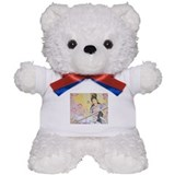 Meditative Sarasvati music Teddy Bear