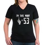 53rd Birthday, Funny, Shirt