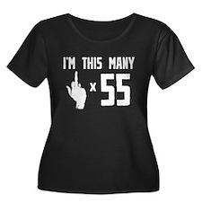 55th Birthday, Funny, T