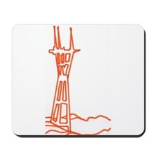 sutro tower Mousepad