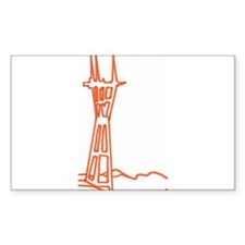 sutro tower Decal