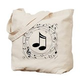 Music Canvas Totes