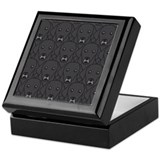 Lots of Black Labs Keepsake Box