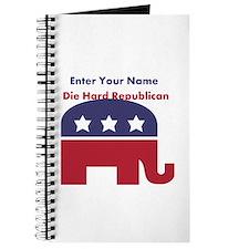 Personalize Die Hard Republican Journal