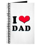 I Love Dad Journal