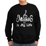 Music Is My Life Quote Jumper Sweater