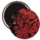 "Red Granite 2.25"" Magnet (10 pack)"