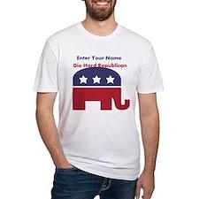 Personalize Die Hard Republican Shirt