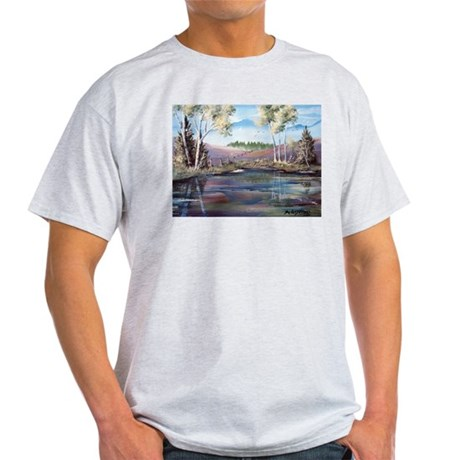 Countryside View Ash Grey T-Shirt